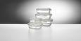 Vorratsdosenset Jenny, 5-teilig - Klar/Transparent, Glas/Kunststoff - Mömax modern living
