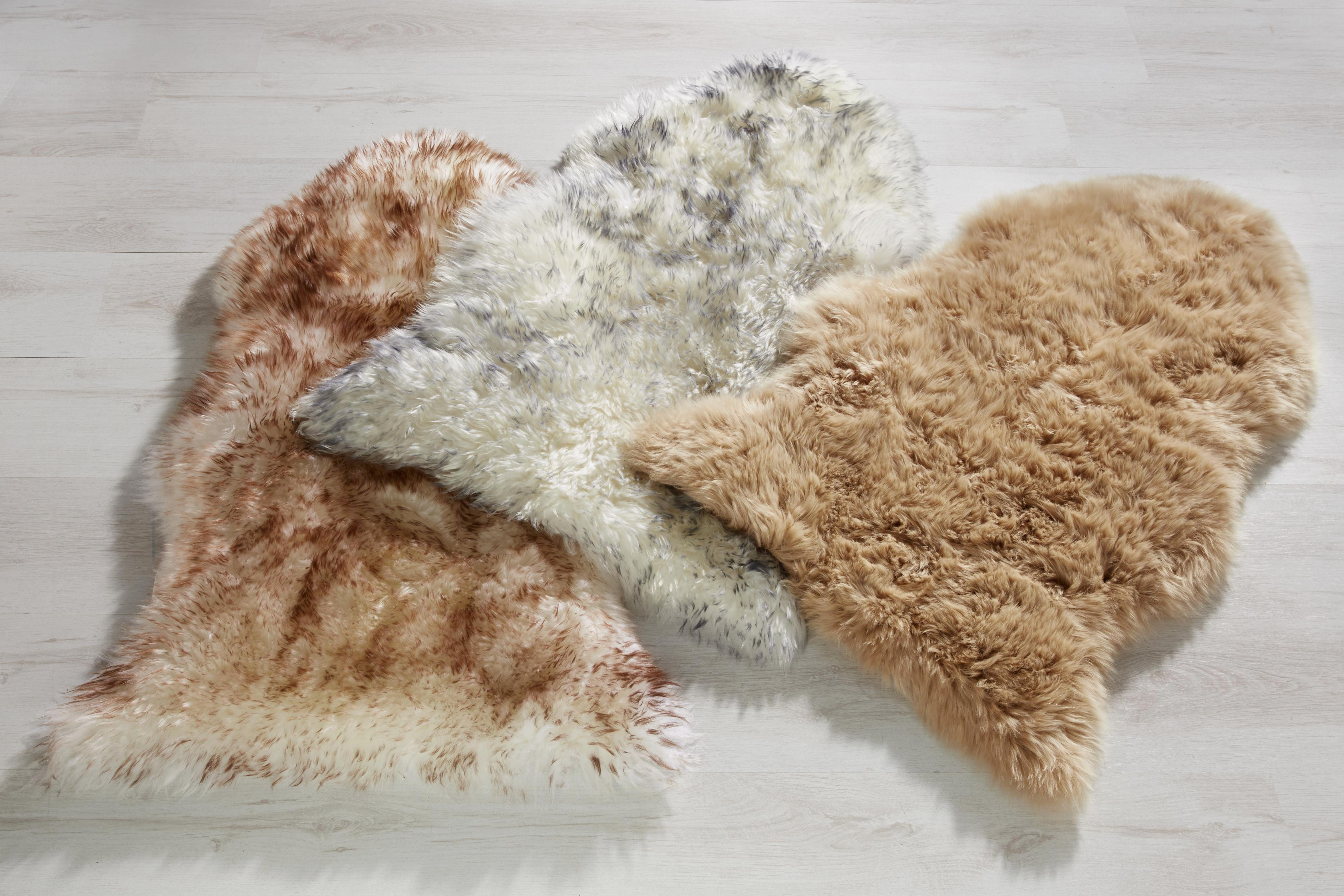 Schaffell Lea ca.60x90cm - Hellbraun, ROMANTIK / LANDHAUS, Textil (60/90cm) - MÖMAX modern living
