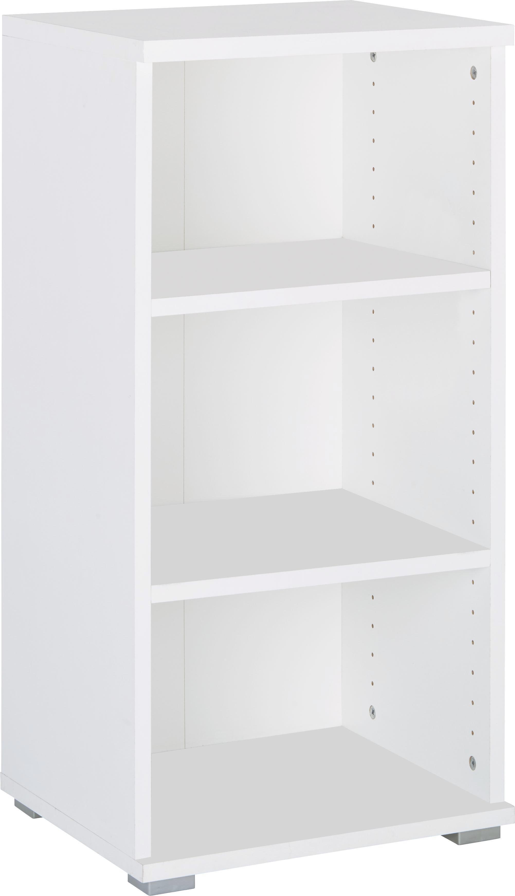Regal in Weiß - Weiß (44/86/37cm) - MÖMAX modern living