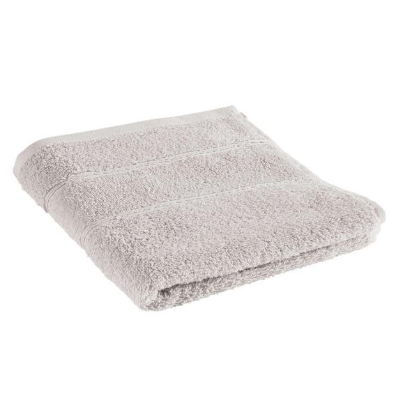 Handtuch Melanie Stein - Hellgrau, Textil (50/100cm) - Mömax modern living