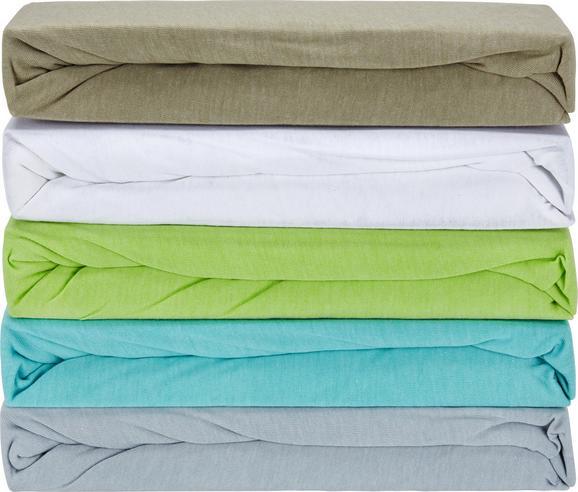 Gumis Lepedő Poldi - Iszap/Zöld, Textil (100/200cm) - Based