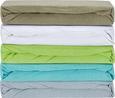 Napenjalna Rjuha Poldi - modra/odtenki umazano rjave, tekstil (100/200cm) - Based