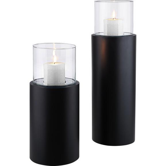 windlicht fire tower in schwarz online kaufen m max. Black Bedroom Furniture Sets. Home Design Ideas