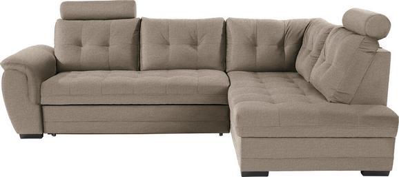 Sedežna Garnitura Falco - svetlo rjava/temno siva, Moderno, kovina/umetna masa (251/183cm) - Mömax modern living