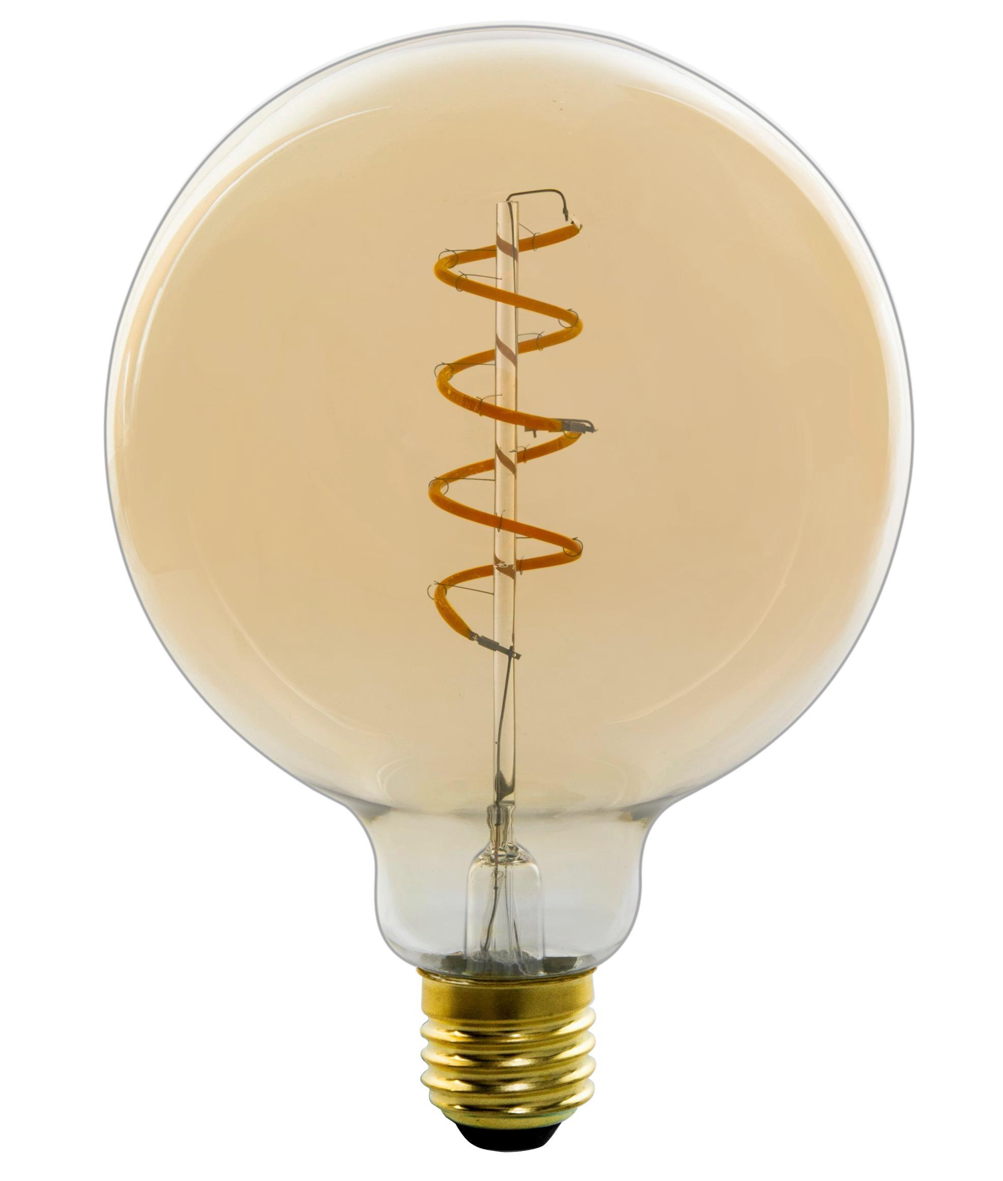 Deko Leuchtmittel 11404fma Max. 4 Watt   Goldfarben, Glas/Metall (12