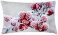 Zierkissen Wintertraum 30x50cm - Hellrosa/Beige, Textil (30/50cm) - Mömax modern living