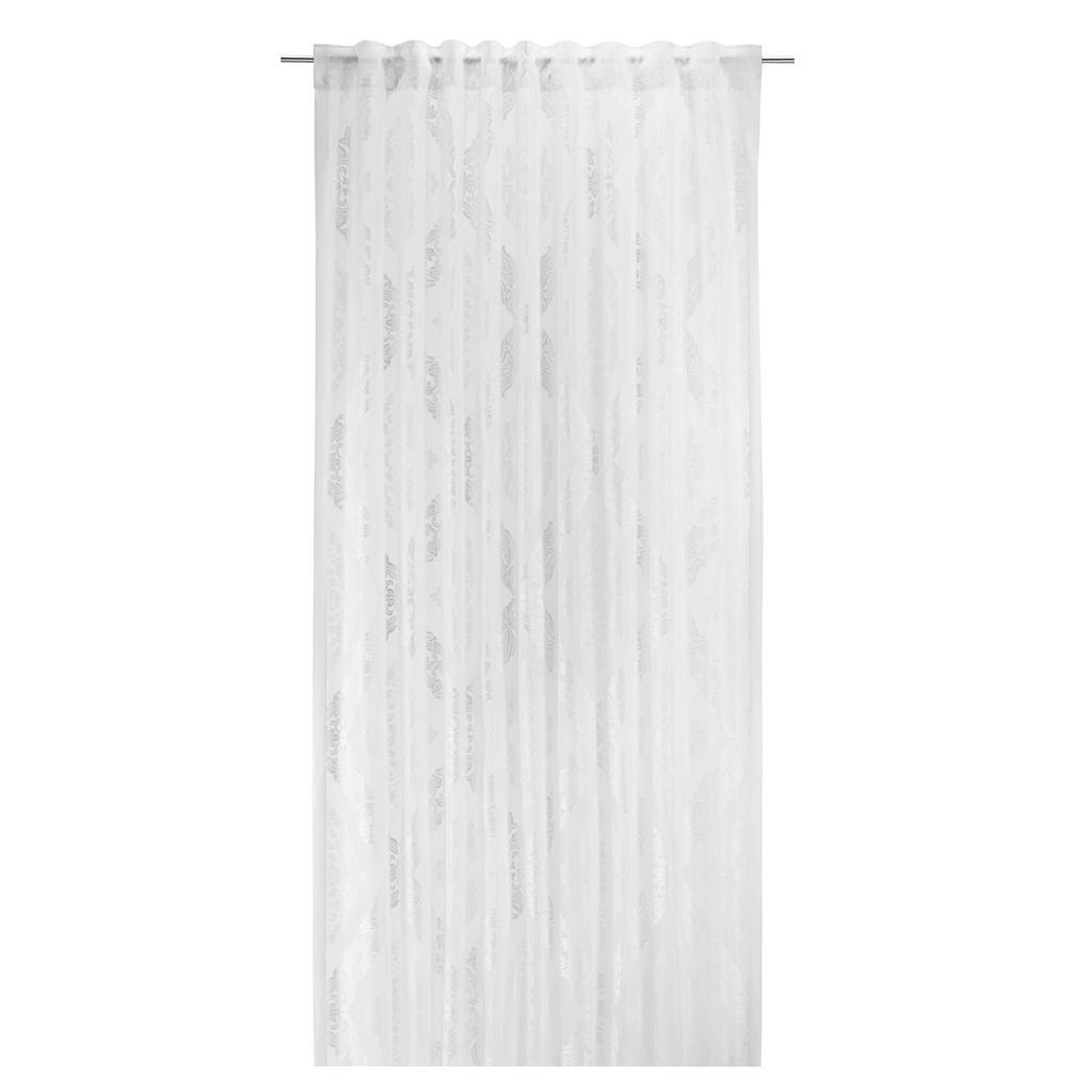 Schlaufenschal Ornela in Weiß, ca. 140x245cm