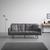 SCHLAFSOFA in grau inkl. 2 Kissen 'David' - Silberfarben/Grau, MODERN, Holz/Textil (196/83/89cm) - Bessagi Home