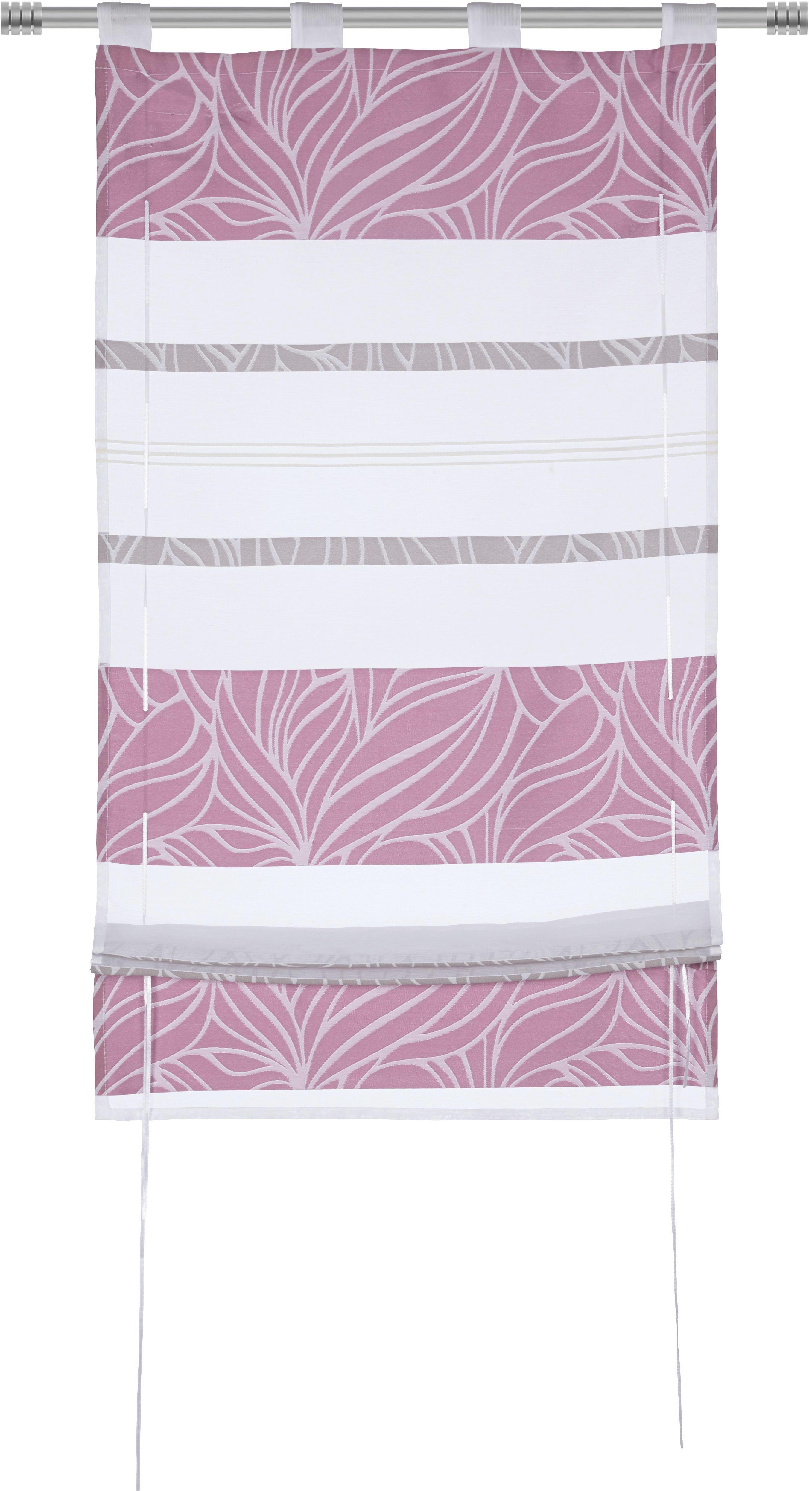 Bändchenrollo Anita, ca. 80x140cm - Lila, KONVENTIONELL, Textil (80/140cm) - MÖMAX modern living