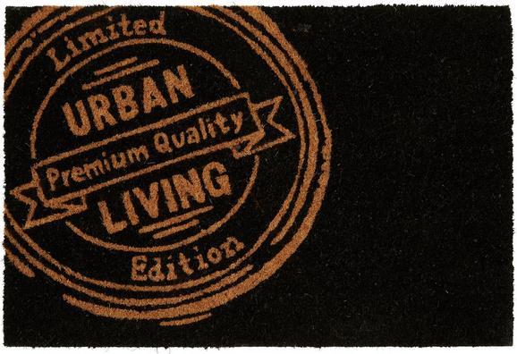 Fußmatte Urban Living, ca. 40x60cm - Schwarz, Kunststoff/Textil (40/60cm) - Mömax modern living