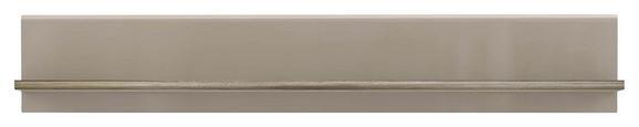 Polica Tiziano - hrast/bež, Moderno, kovina/umetna masa (143,8/23,5/25cm) - Mömax modern living
