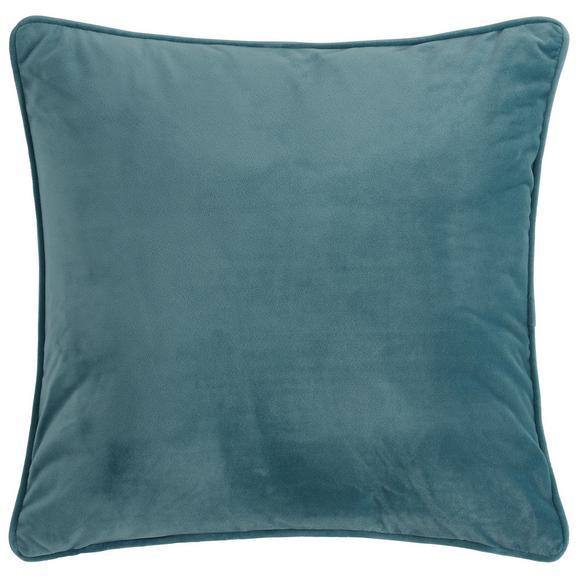 Zierkissen Viola in Blau - Blau, KONVENTIONELL, Textil (45/45cm) - Premium Living