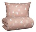 Posteljina Winter Trees - roza, Romantik / Landhaus, tekstil (140/200cm) - Mömax modern living