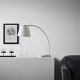 Tischleuchte Alexa - Weiß, MODERN, Kunststoff/Stein (80/30/70cm) - Bessagi Home