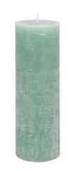 Tömbgyertya Ruth-rustik - Világoszöld/Fáradt rózsaszín, modern (10/30cm) - Mömax modern living
