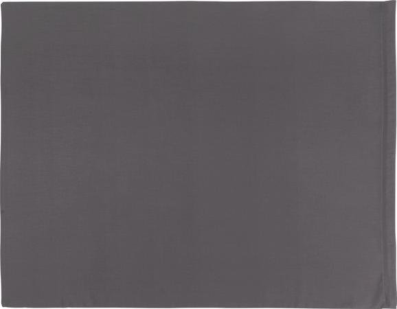 Prevleka Blazine Belinda - antracit/svetlo siva, tekstil (70/90cm) - Premium Living