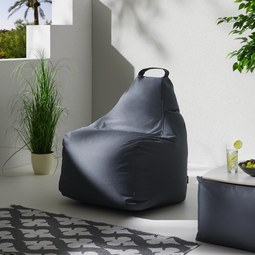 Outdoorsitzsack Gina - Grau, MODERN, Textil (80/80/80cm)