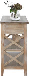 Konsolentisch Savannah Antik 104x42cm - Braun, MODERN, Holz/Metall (104/81/42cm) - MÖMAX modern living