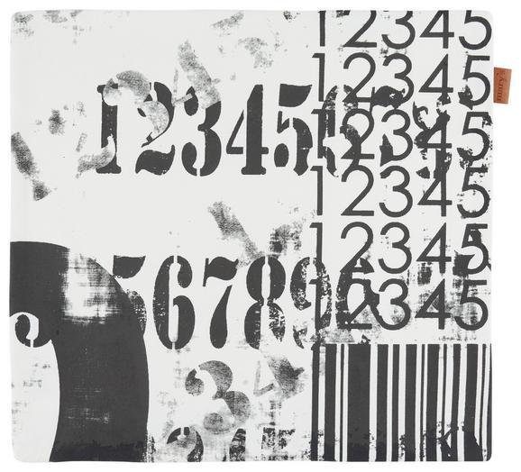 Prevleka Blazine Jenni - črna, Moderno, tekstil (40/40cm)