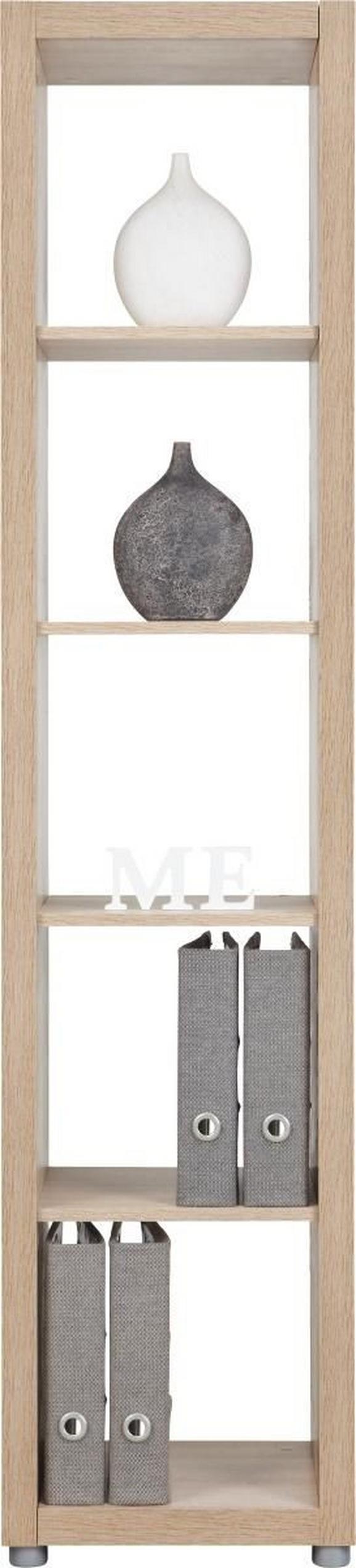 Predelna Stena Aron - hrast, leseni material (44/191/35cm)