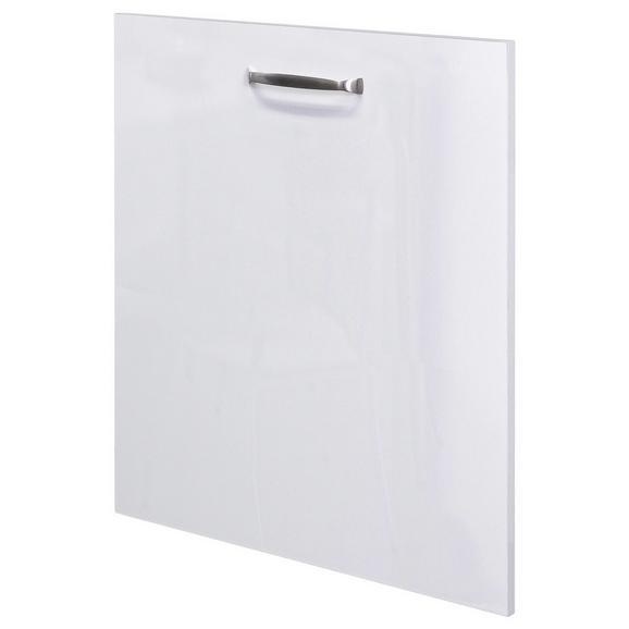 Geschirrspülerblende Venezia-valero / Weiß - Weiß, MODERN, Holzwerkstoff (59,4/68,2cm)
