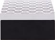 Škatla S Pokrovom Pattern - črna/bela, Trendi, les (12/12/6cm) - Mömax modern living