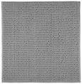 Badematte Nelly Silber 50x50cm - Silberfarben, Textil (50/50cm) - Mömax modern living