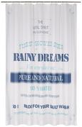 Duschvorhang Rainy Dream Blau 180x200cm - Blau, Textil (180/200cm) - Mömax modern living