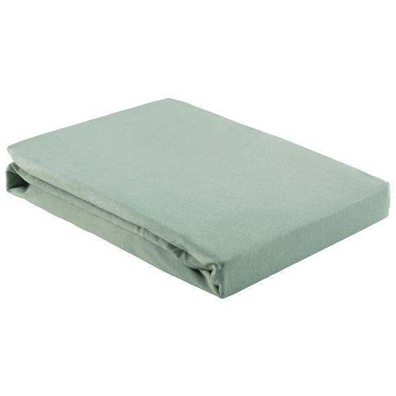 Gumis Lepedő Basic 150-160/200 - Világoszöld, Textil (150/200cm) - Mömax modern living