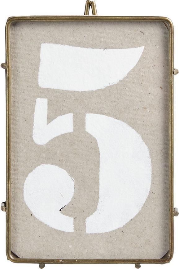 Okvir Za Slike Lisan - zlata, kovina (15/8/5cm) - Mömax modern living