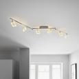 LED-Strahler Nanni, max. 4 Watt - Chromfarben, ROMANTIK / LANDHAUS, Kunststoff/Metall (180/19cm) - Premium Living