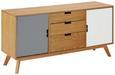 Sideboard Maris - Eichefarben/Buchefarben, MODERN, Holz (120/60/35cm) - Modern Living