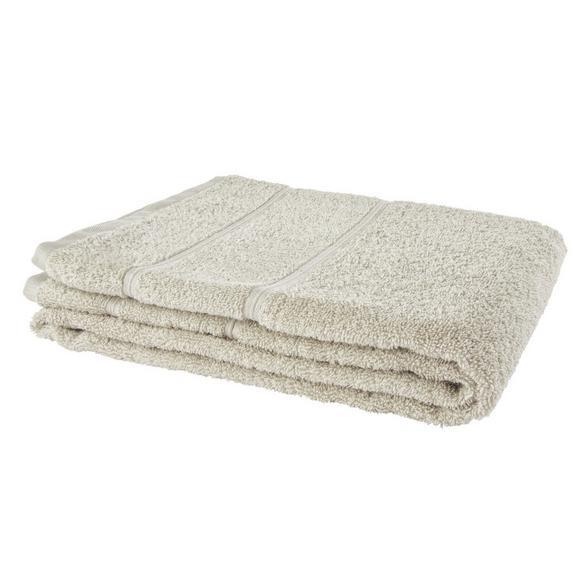 Brisača Melanie -top- - svetlo siva, tekstil (70/140cm) - Mömax modern living