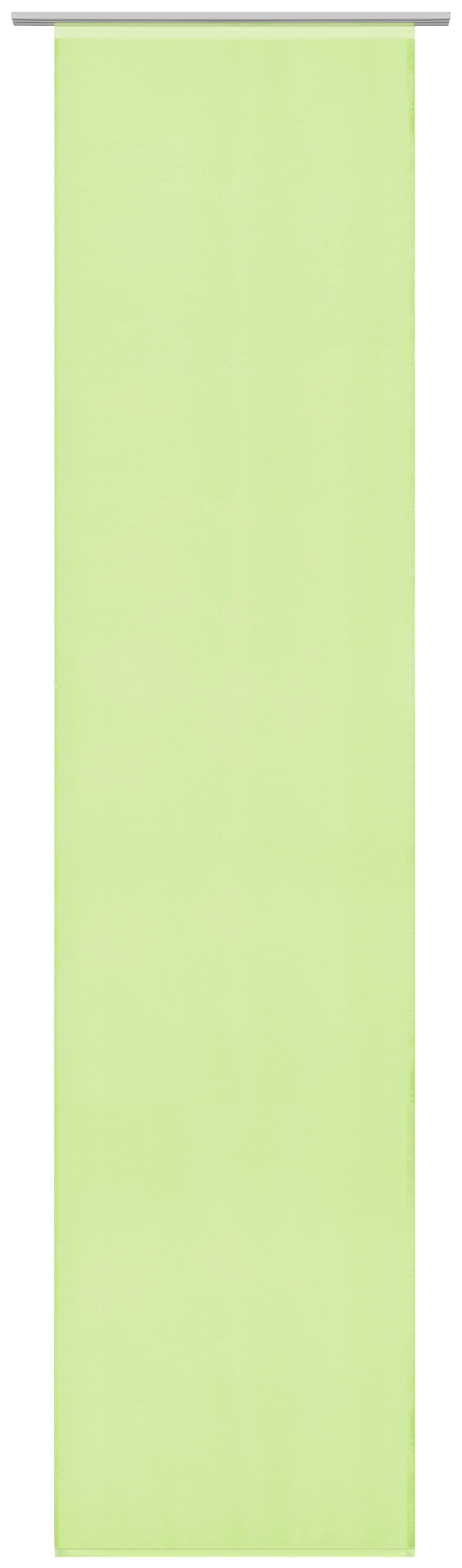 Lapfüggöny Uni - zöld, modern, textil (60/245cm) - MÖMAX modern living