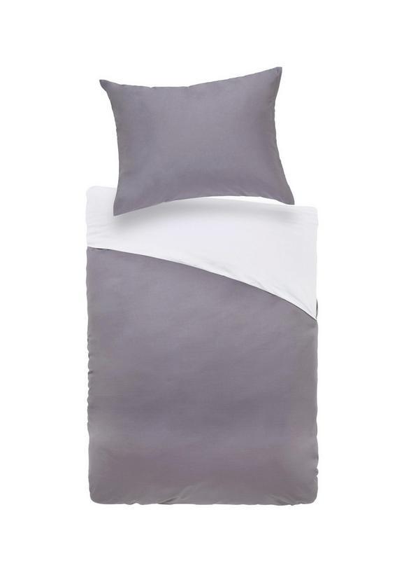 Bettwäsche Belinda 140x220cm - Anthrazit/Hellgrau, Textil (140/220cm) - Premium Living