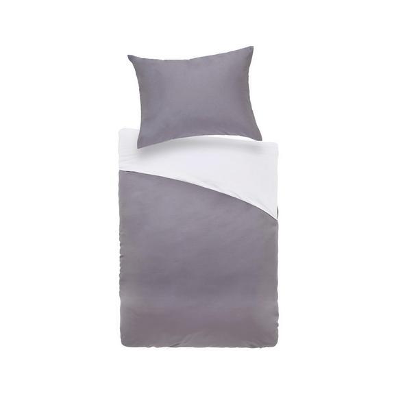 Posteljnina Belinda  Xl - antracit/svetlo siva, tekstil (140/220cm) - Premium Living