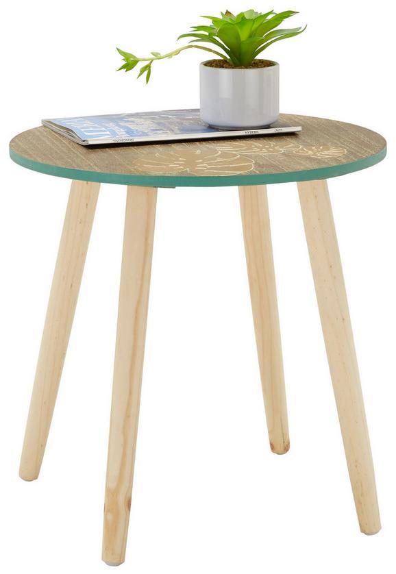 Beistelltisch Braun/Kieferfarben - Holz/Holzwerkstoff (45/45/45cm) - MÖMAX modern living