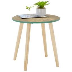 Kisasztal Fortuna -trend- - fa/fém (45/45/45cm) - MÖMAX modern living