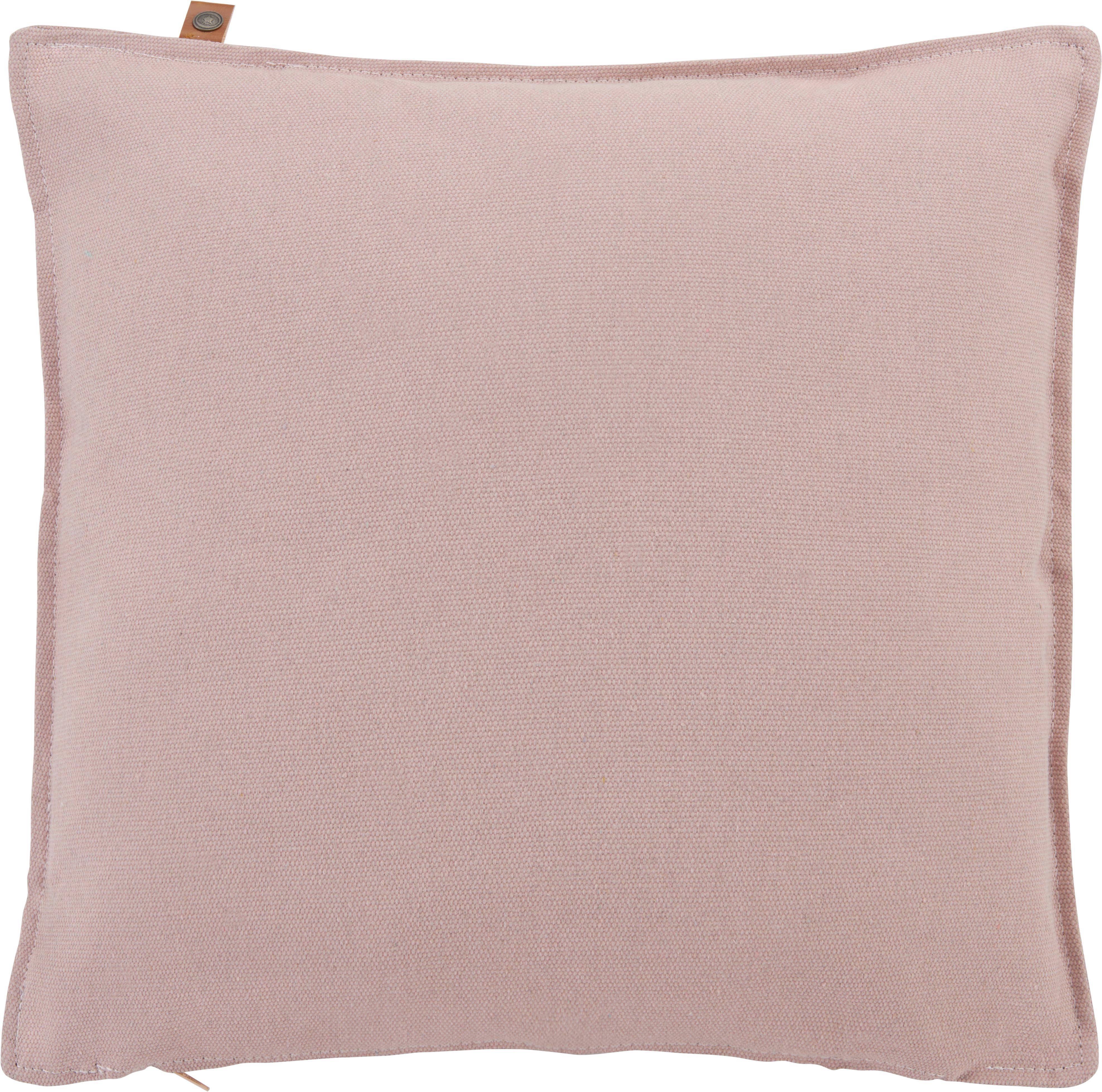 Zierkissen Jenna 45x45cm - Rosa, MODERN, Textil (45/45cm)