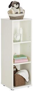 Regal Weiß - Weiß, KONVENTIONELL, Holzwerkstoff (31/91/32cm) - Premium Living