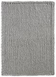 Decke Berita ca. 127x152  in Hellgrau - Hellgrau, Textil (127/152cm) - Mömax modern living