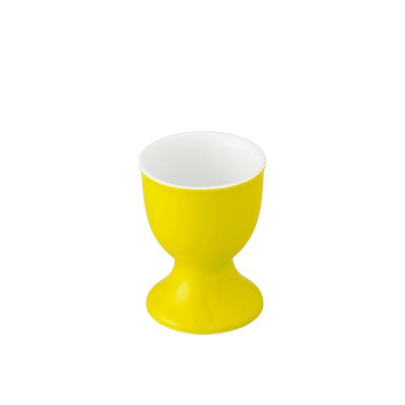 Eierbecher Sandy in Gelb - Gelb, KONVENTIONELL, Keramik (4,8/6,5cm) - MÖMAX modern living