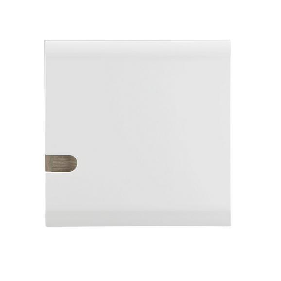 Viseči Element Linate - bela/hrast tartuf, Moderno, leseni material (55/55/28cm) - Mömax modern living