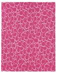 Odeja Iz Flisa Bubble -eö- - petrolej/roza, tekstil (130/160cm) - Mömax modern living