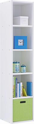 Regal Sunny - bela, Moderno, les (38/182/38cm) - Premium Living