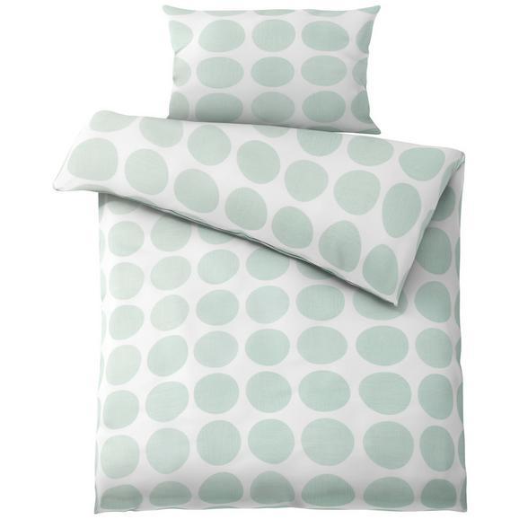 Posteljina Dots -ext - bijela/zelena, Modern, tekstil (140/200cm) - Mömax modern living