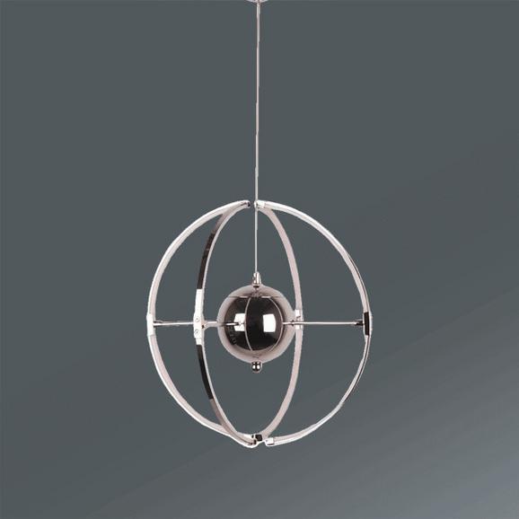 Viseča Led-svetilka Lilia - Moderno, kovina/umetna masa (30/130cm) - Mömax modern living