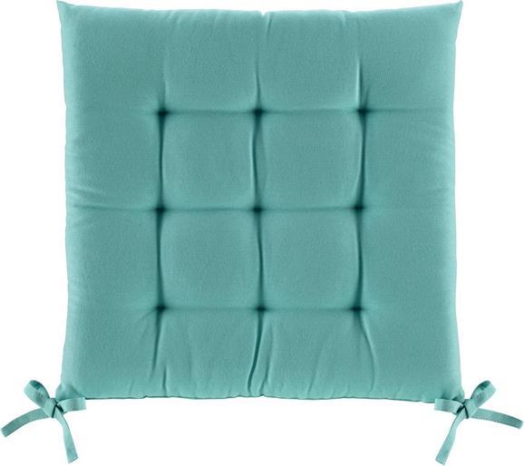 Sedežna Blazina Anita -ext- - turkizna, tekstil (40/40/4cm) - Mömax modern living