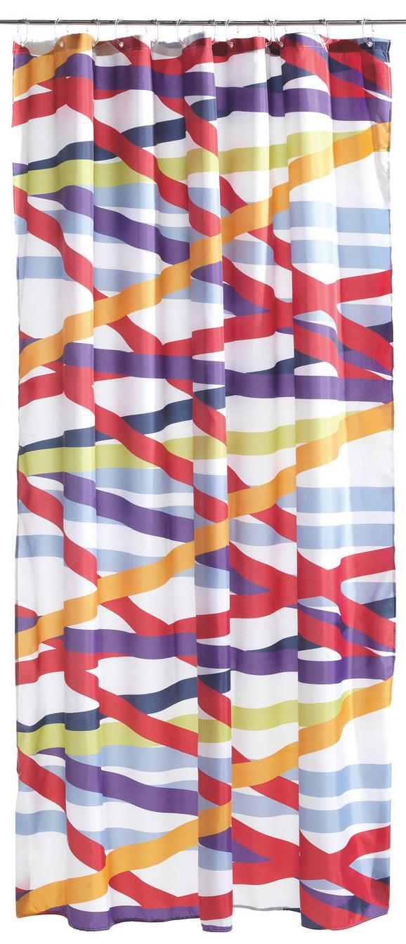 Zuhanyfüggöny Striped - multicolor, Lifestyle, textil (180/200cm) - MÖMAX modern living