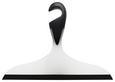 Duschabzieher Loano Schwarz/Weiß - Schwarz/Weiß, Kunststoff (23/17cm)